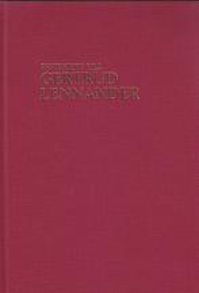 Festskrift till Gertrud Lennander