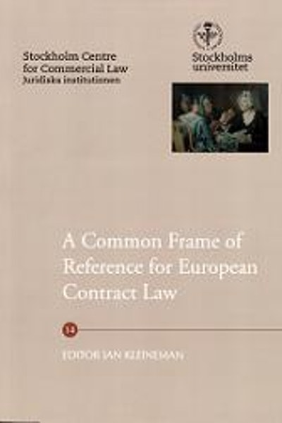 A common frame of reference for European contract law