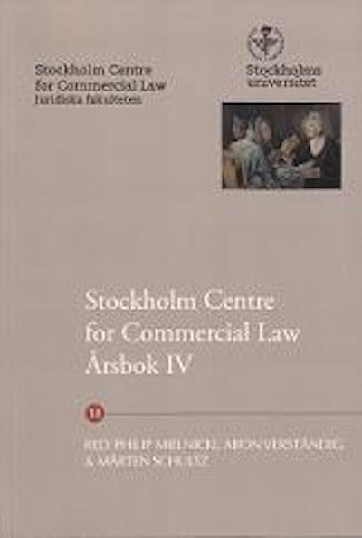 Stockholm Centre for Commercial Law årsbok. 4