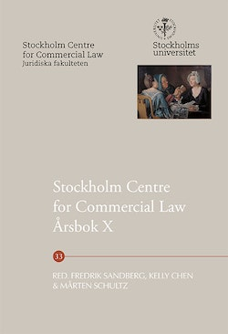Stockholm Centre for Commercial Law Årsbok X