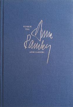 Vänbok till Anne Ramberg