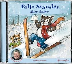 Pelle Svanslös åker skidor