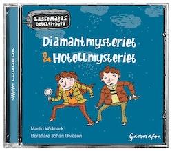 Diamantmysteriet & Hotellmysteriet ställ 15-pack
