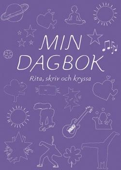 Min dagbok : Rita, skriv och kryssa (lila)
