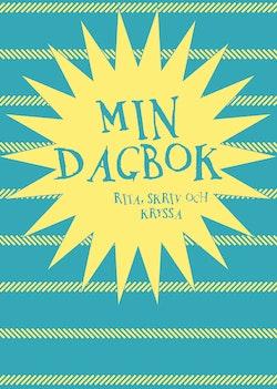Min dagbok : Rita, skriv och kryssa (blå)