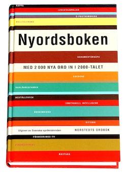 Nyordsboken : med 2000 nya ord in i 2000-talet
