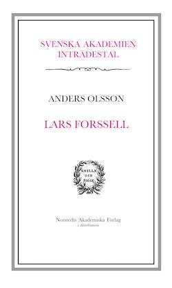 Lars Forsell : inträdestal i Svenska Akademien