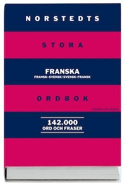 Norstedts stora franska ordbok : fransk-svensk, svensk-fransk