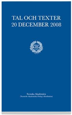 Tal och texter 20 december 2008
