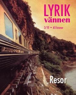Lyrikvännen 3(2010) Resor