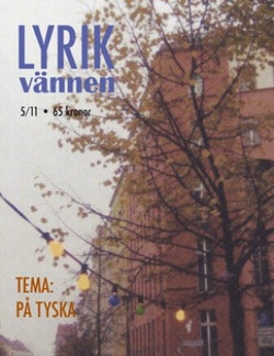 Lyrikvännen 5(2011) På tyska