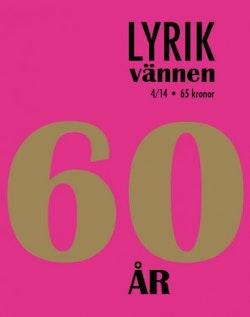 Lyrikvännen 4(2014) 60 år