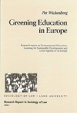 Greening Education in Europe