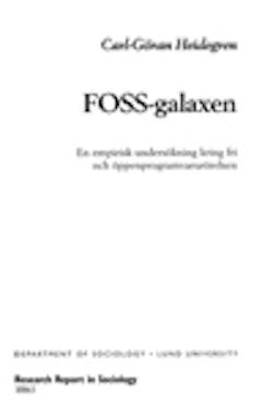FOSS-galaxen : en empirisk undersökning kring fri och öppenprogramvarurörelsen