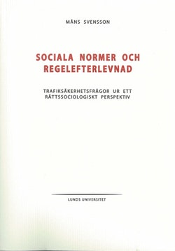 Sociala normer och regelefterlevnad
