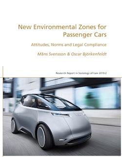 New environmental zones for passenger cars