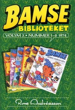 Bamsebiblioteket. Vol. 03, Nummer 1-6 1974