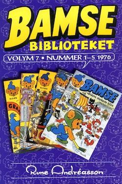 Bamsebiblioteket. Vol. 07, Nummer 1-5 1976