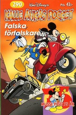 Kalle Ankas Pocket nr 290 - Falska förfalskare