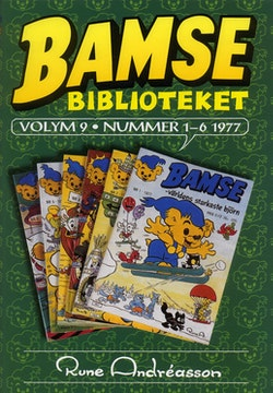 Bamse Biblioteket volym  9 - nummer 1-6 1977
