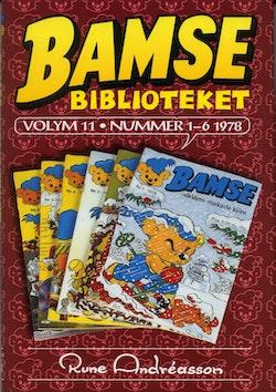 Bamsebiblioteket. Vol. 11, Nummer 1-6 1978