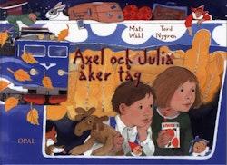 Axel och Julia åker tåg