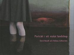 Porträtt i ett målat landskap