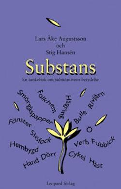 Substans : en tankebok om substantivens betydelse