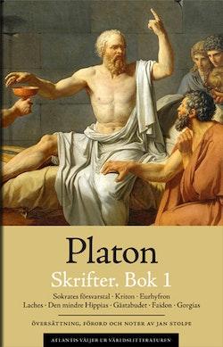 Skrifter. Bok 1. Sokrates försvarstal ; Kriton ; Euthyfron ; Laches ; Gästabudet ; Faidon ; Gorgias
