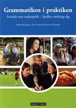 Svenska som andraspråk, Språket omkring dig. Grammatiken i praktiken