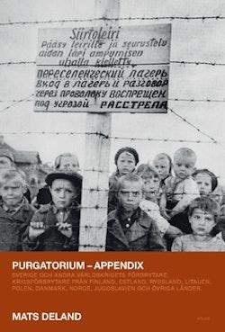Purgatorium : Sverige och andra världskrigets förbrytare - appendix