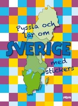 Pyssla och lär om Sverige med stickers