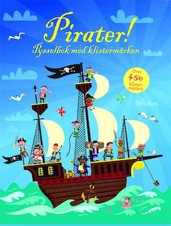Pirater : pysselbok med klistermärken