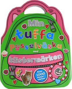 Min tuffa pysselväska med klistermärken