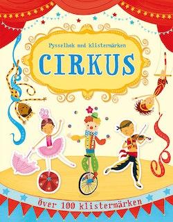 Cirkus : pysselbok med klistermärken