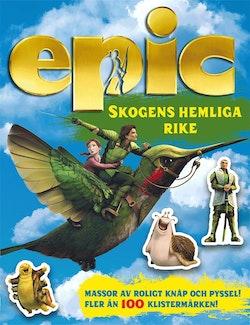 Epic: Skogens hemliga rike Pysselbok med klistermärken