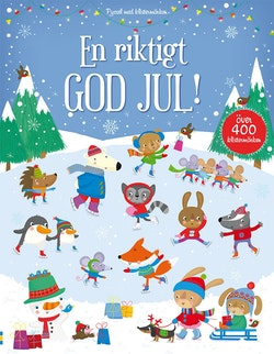En riktigt god jul : över 400 klistermärken
