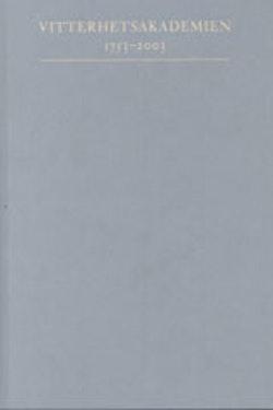 Vitterhetsakademien 1753-2003