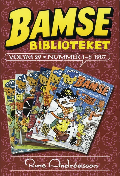 Bamsebiblioteket. Vol 29, Nummer 1-6 1987