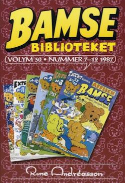 Bamsebiblioteket. Vol 30, Nummer 7-12 1987