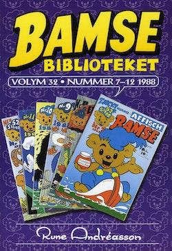 Bamsebiblioteket. Vol 32, Nummer 7-12 1988
