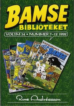 Bamsebiblioteket. Vol 34, nummer 7-12 1989
