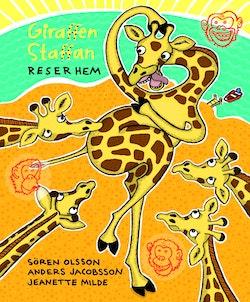 Giraffen Staffan reser hem