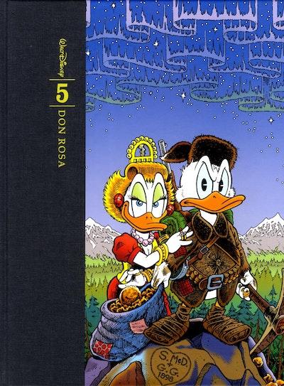 Don Rosas samlade verk : tecknade serier och illustrationer. Bd 5,