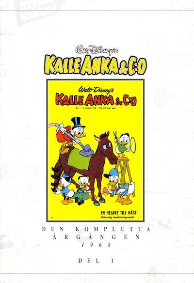 Kalle Anka & C:o. Den kompletta Årgången 1968. D.1