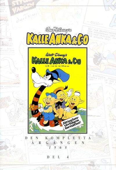 Kalle Anka & C:o. Den kompletta Årgången 1968. D. 4