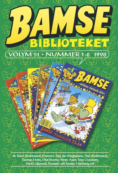 Bamse Biblioteket. Vol 51, nummer 1-6 1998