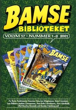 Bamse Biblioteket. Vol 57, nummer 1-8 2001