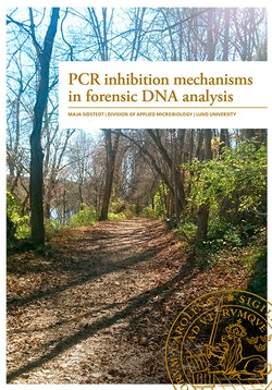 PCR inhibition mechanisms in forensic DNA analysis