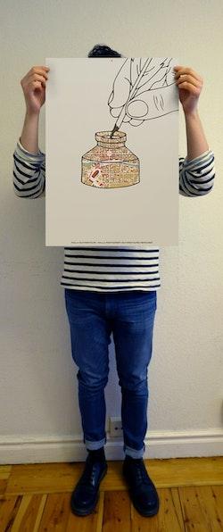 Malla Silfverstolpe - Malla Silfverstolpes memoarer (Telegram klassiker affisch)